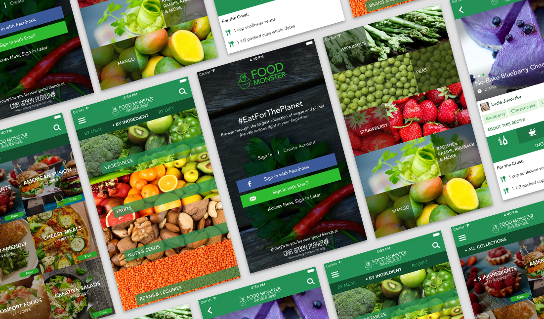 Food Monster - Download The Largest Vegan Food App! - One ...