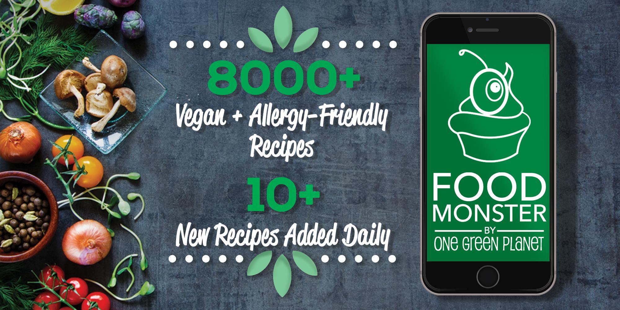 Food monster download the largest vegan food app one green planet the biggest baddest yummiest vegan food app forumfinder Choice Image