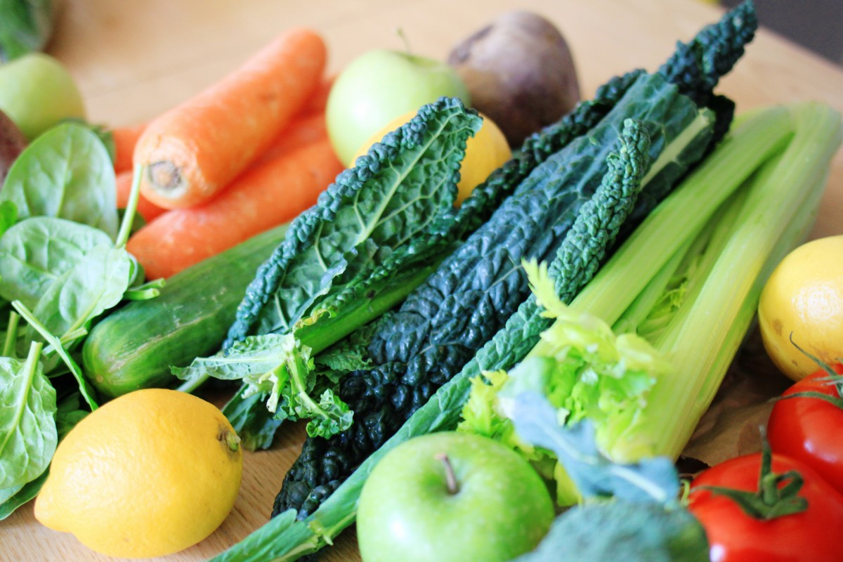 veggie juice ingredients