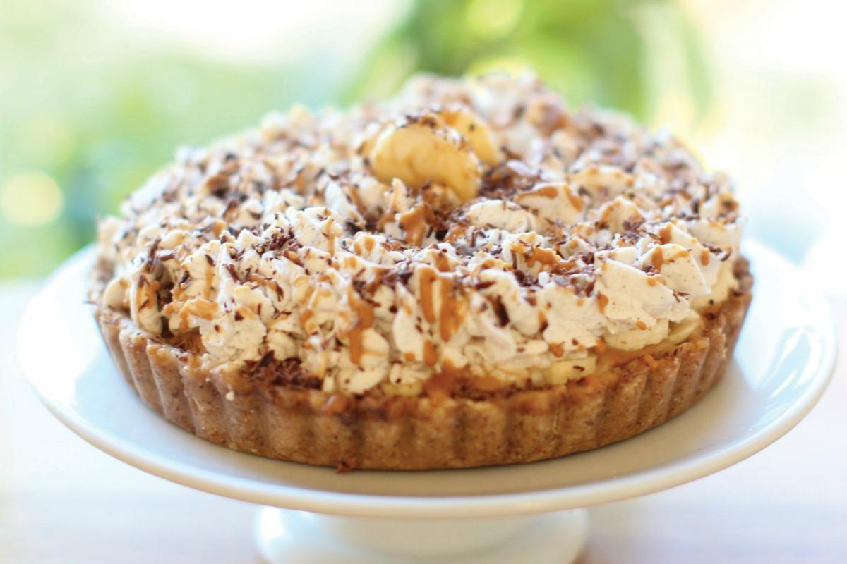 Banana Toffee Pie