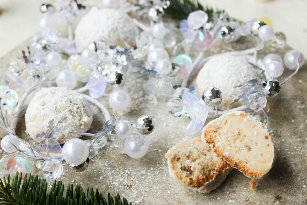 Snowball Cookies Vegan One Green Planetone Green Planet