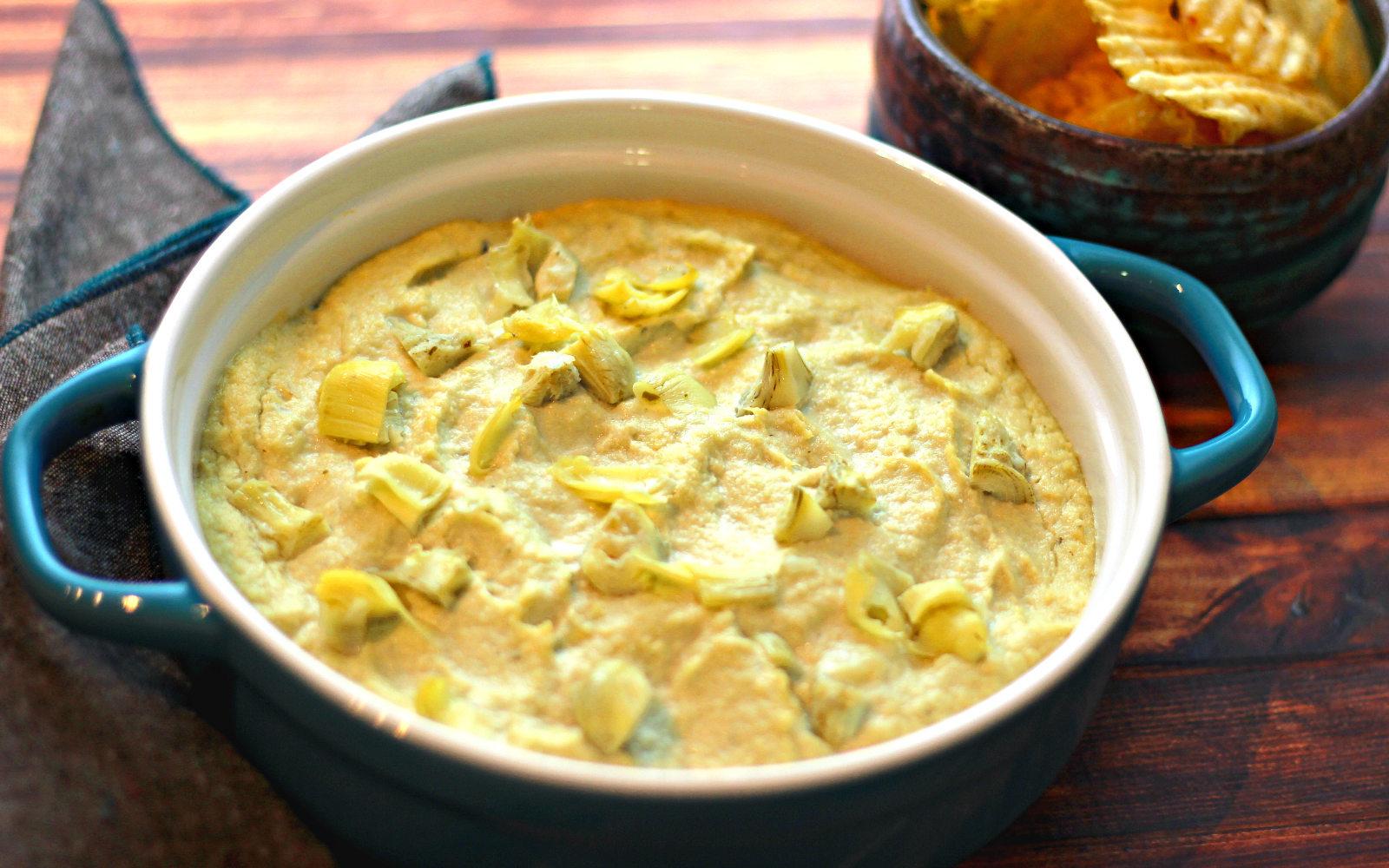 Lemon Artichoke Dip [Vegan, Gluten-Free]   One Green Planet