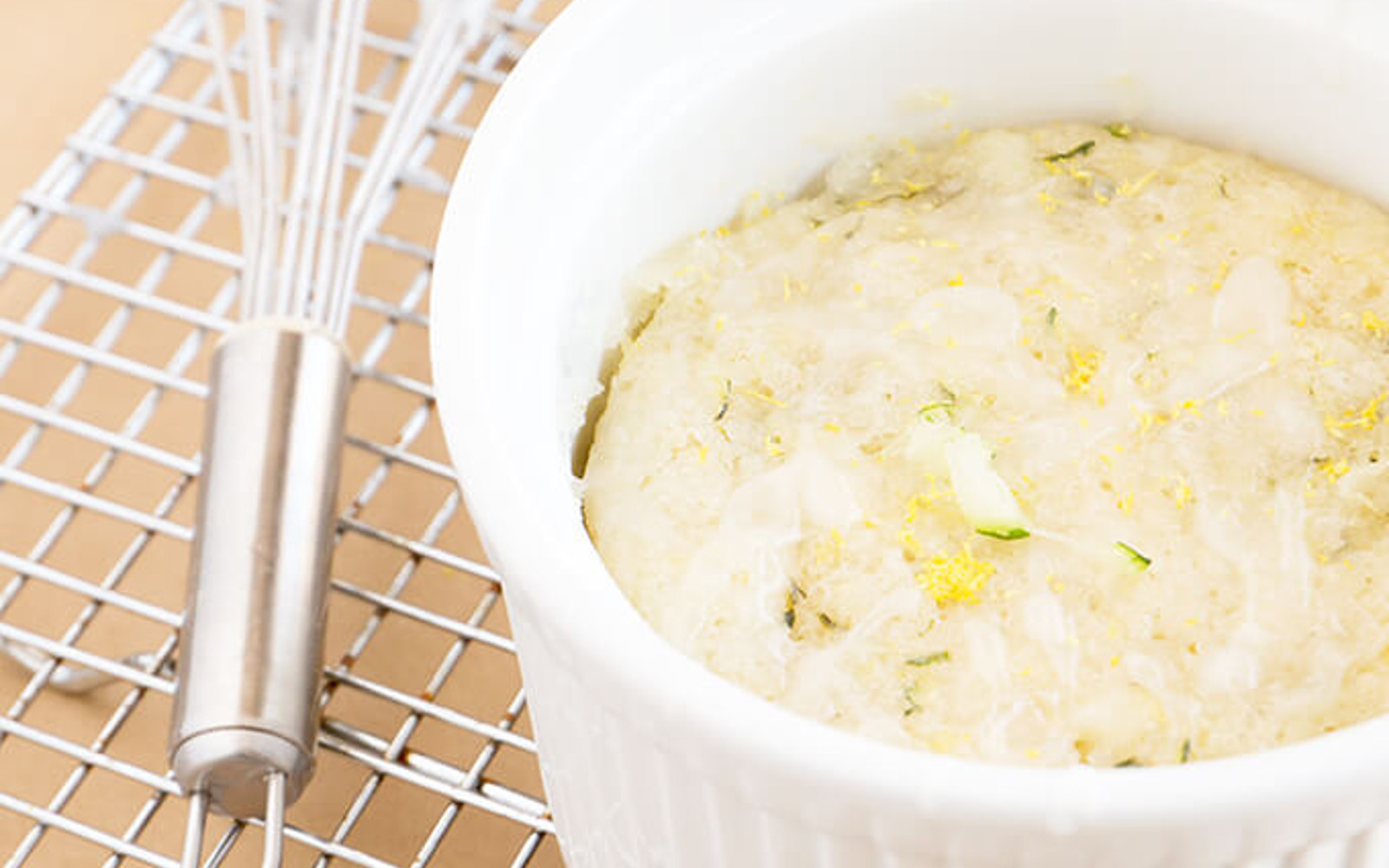 Lemon Vegan Mug Cake