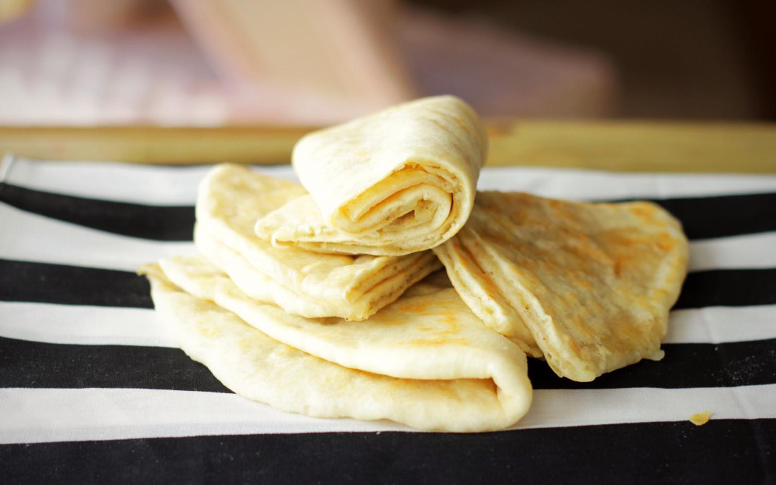 Homemade Alloo Puri: Trinidadian Flat Bread