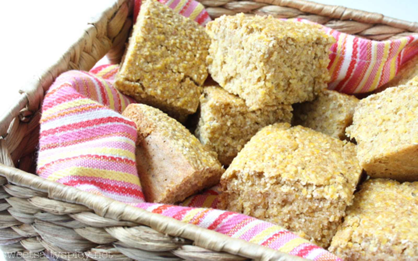 Vegan Soy-Free Nut-Free Oil-Free Fluffy Cornbread